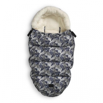 Elodie details Footmuff Dark Blue Green White.jpg