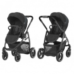 Graco Jalutuskäru Evo Xt Black Grey