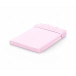 Voodilina kummiga 60x120 Jersey Pink