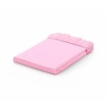 Voodilina kummiga 70x140 J.Pink