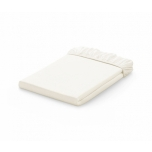 Voodilina kummiga 60x120 Jersey White